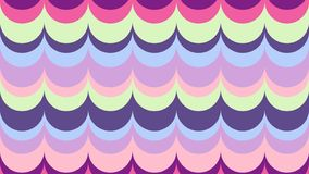 Wavy background in shades of ultra violet. royalty free illustration