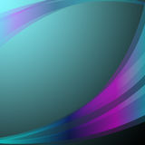 Wavy Background Shows Abstract Art Or Turquoise Wallpaper Royalty Free Stock Photography