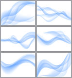 Wavy backgrounds Royalty Free Stock Photography