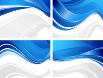 Wavy backgrounds Stock Photos