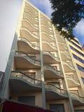 Wavy balconies Stock Images