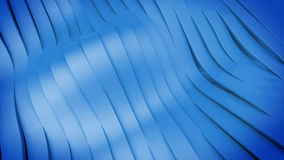 Wavy band surface Stock Photography