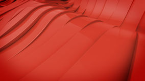 Wavy band surface Stock Photo