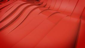 Wavy band surface Stock Photo