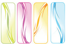 Wavy banner. Easy to resize or change color Royalty Free Stock Photography