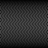 Wavy, billowy zigzag lines. Royalty Free Stock Images