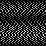 Wavy, billowy zigzag lines. Royalty Free Stock Photography