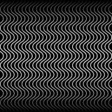 Wavy, billowy zigzag lines. Stock Image