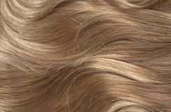 Wavy blonde hair Royalty Free Stock Photos