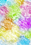 Wavy blurred color pattern Stock Image
