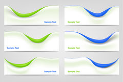 Wavy Business Templates Stock Photos
