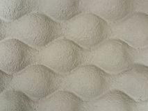 Wavy Cardboard Packing Material Royalty Free Stock Photo