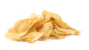 Wavy chips Stock Images