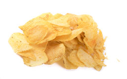 Wavy chips Royalty Free Stock Photography