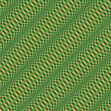 Wavy Christmas pattern seamless Stock Photo
