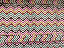Wavy decoration on box. Colored wavy decoration on box Royalty Free Stock Image