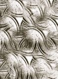 Wavy defocused seamless 3d gray background stock photography