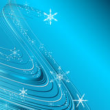 Wavy elegant Christmas vector Royalty Free Stock Photo