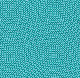Wavy emerald grid background Royalty Free Stock Photos