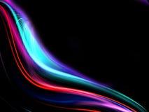 wavy färgrik design för abstrakt bakgrund Royaltyfri Fotografi