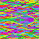 wavy färgrika linjer seamless abstrakt modell Royaltyfria Foton