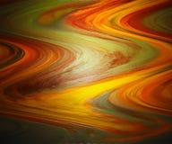 Wavy fantasy background. Brush strokes art. Bright & beautiful fluid colors art. Nature scenery view.Acrylic paint splat on canvas vector illustration