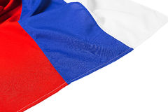 Wavy flag of Russia Royalty Free Stock Image