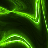 Wavy flowing lines background design. Royalty Free Stock Images