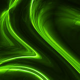 Wavy flowing lines background design. Stock Photography