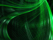 Wavy Fractal Background - Abstract Digitally Generated Image Stock Photo