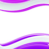 Wavy glossy bright design template, background Stock Photos