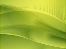 Wavy glowing colors Royalty Free Stock Photos
