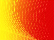 Wavy glowing colors Stock Images