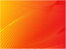 Wavy glowing colors Royalty Free Stock Image