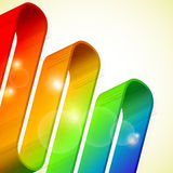 Wavy gradient Stock Photography