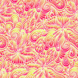 Wavy gradient pattern Stock Images