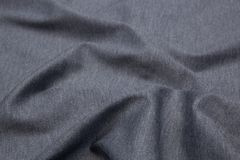 Wavy fabric closeup texture background. Wavy gray melange jersey fabric texture closeup for backgrounds or product show high resolution Stock Image