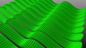 Wavy Green Stripes Sine. stock video footage