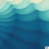 Wavy Grid Background. Mosaic. Royalty Free Stock Photography