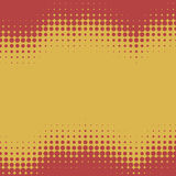 Wavy halftone background Royalty Free Stock Photography