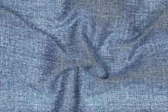 Wavy on jeans texture for pattern and background Stock Images
