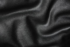 Wavy leather Stock Images
