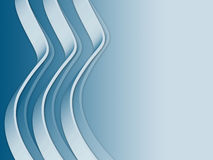 Wavy line. 3d wavy line background. Computer generated Stock Images