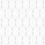 Wavy line pattern. Vector illustration. Royalty Free Stock Photography