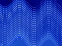 Wavy Lines. Blue Wavy Lines Stock Illustration