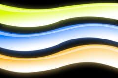 Wavy lines Stock Image