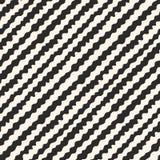Wavy lines pattern, diagonal pattern,  hand drawn stripes background Royalty Free Stock Photos