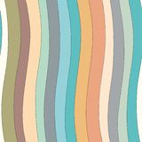 Wavy lines seamless pattern. royalty free illustration