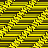 Wavy lines seamless pattern. Royalty Free Stock Images