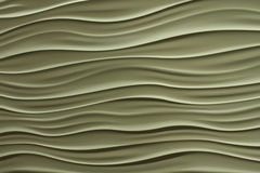 Wavy lines in tan or putty color Royalty Free Stock Image